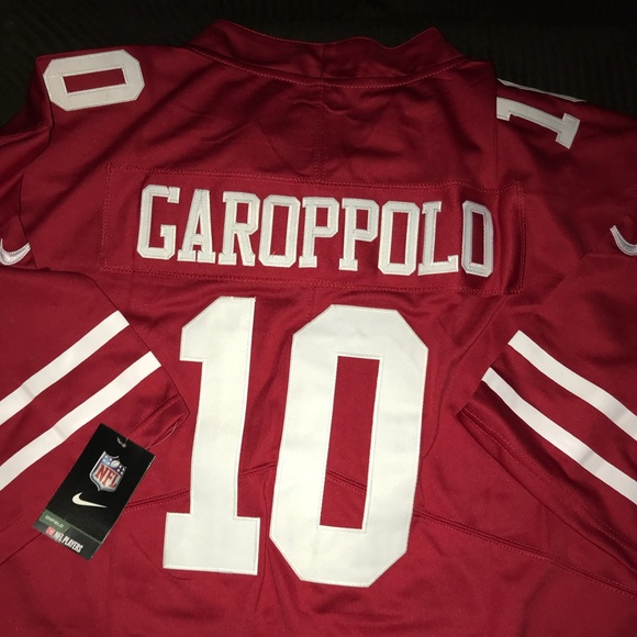 finest selection 36d51 09316 NWT stitched Nike 49ers Jimmy Garoppolo Jersey NWT